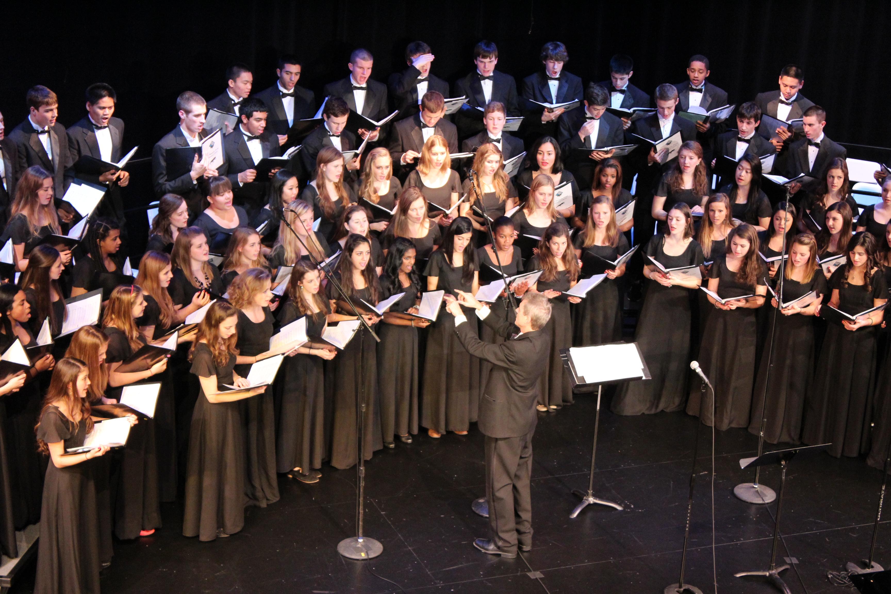national childrens choir performance - HD3456×2304